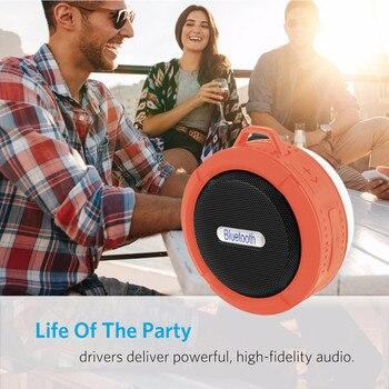 Altavoz altavoces pc altavoz duchaC6 Mini portátil inalámbrico Bluetooth impermeable estéreo sonido...