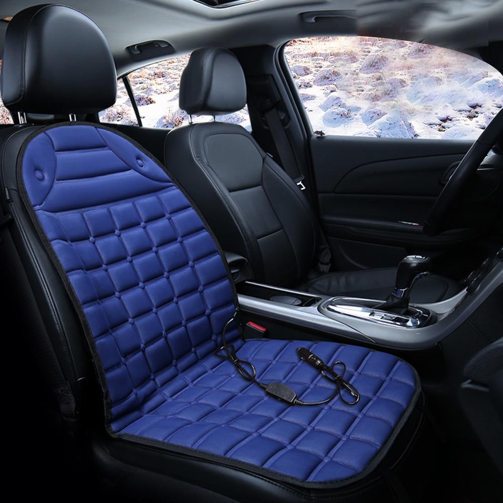 Seat Heater Cushion Winter Heater Seat Pad beige KK moon 12V Heated Seat Cushion for Car