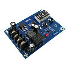 XH-M603 módulo de controle de carregamento digital display led de armazenamento de lítio carregador de bateria interruptor de controle placa de proteção 12-24 v