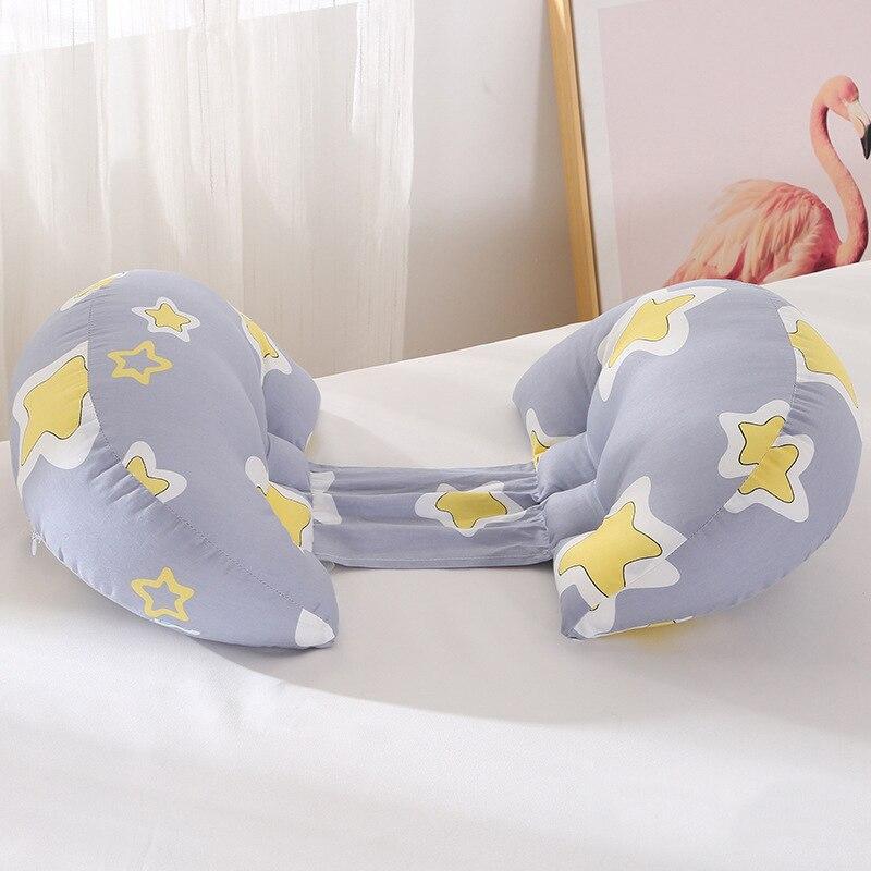 1 шт. ортопедическая поясничная подушка для бокового сна для беременных женщин специальная подушка для сна забота о материнстве Защита позвоночника поясная подушка - Цвет: Star