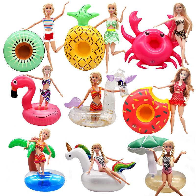 Accesorios De Moda Para Muñeca Barbie Salvavidas Anillo De Playa Juguetes Para Niñas Bikini Ropa Para Muñeca Juguetes Para Niñas Regalo Muñecas Aliexpress