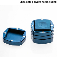 Bright Color Pool Adsorption Box Portable Snooker Accessories Container Wear Resistant Practical Bottom Magnetic Chalk Holder