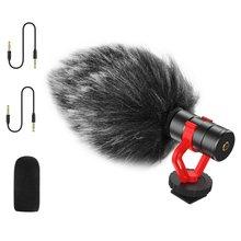 Мини микрофон для видеозаписи интервью с шумоподавлением sony