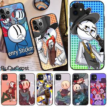 The Henry Stickmin Collection Phone Case For Iphone 11 12 Pro 11 Pro Max X XS XR XS MAX 8plus 7 6splus 5s Se 7plus SE 2020 image