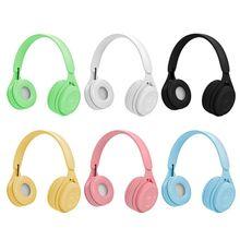 Wireless Bluetooth 5.0 Headset Head-mounted HiFi Stereo Sound Headphone Earphone M5TB