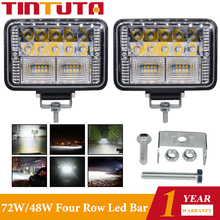 4 Inch 78W Werk Bar Led Verlichting Spot Lamp 26LED 9 30V Auto Koplamp Mistlamp Auto accessoires Auto Licht