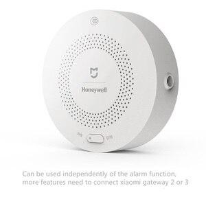 Image 3 - Oryginalny Xiaomi Mijia Honeywell detektor gazu Zigbee Control Mi inteligentne zestawy do domu czujnik pracy dla Xiaomi Hub Gateway 3
