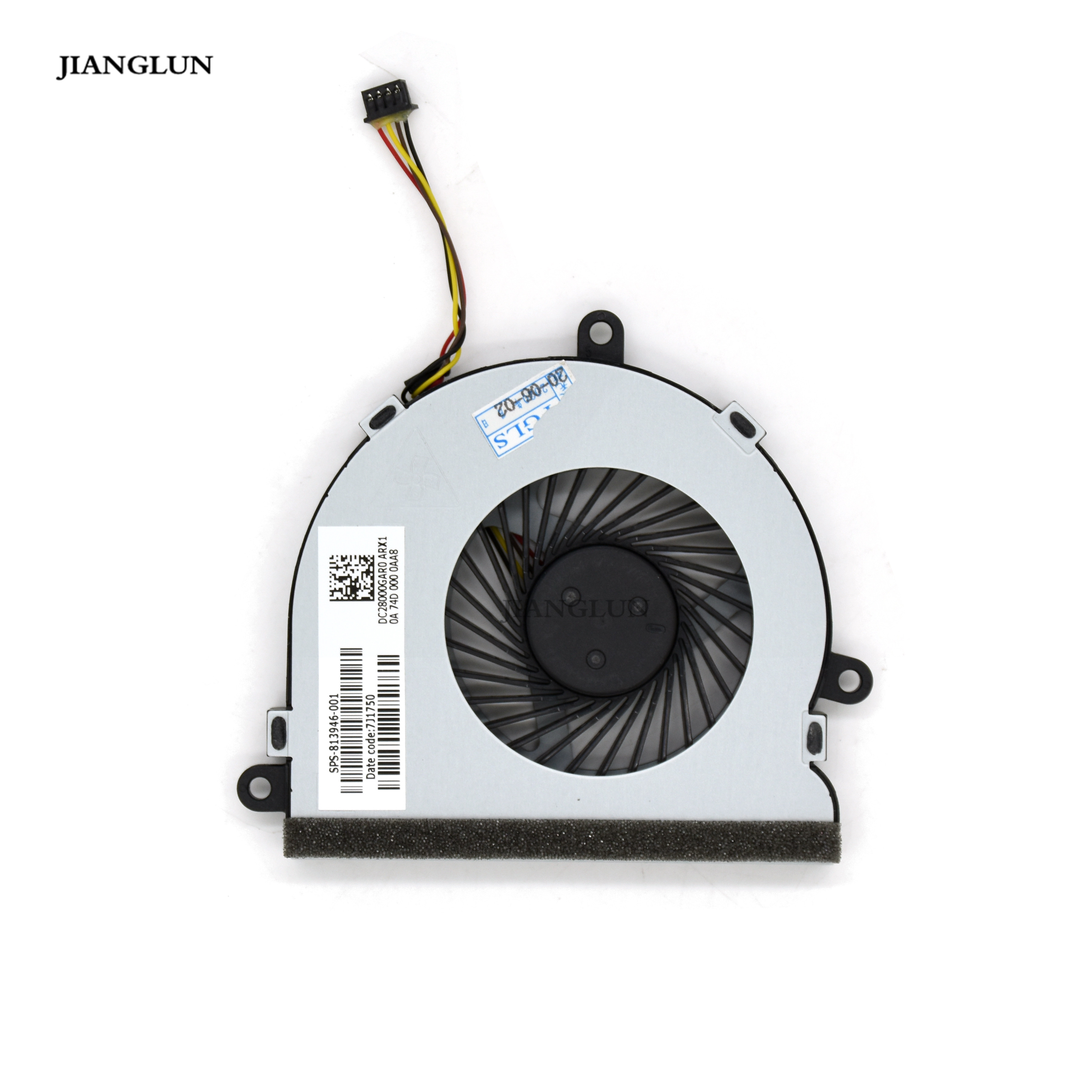 JIANGLUN Laptop CPU Cooling Fan For HP 15-AY