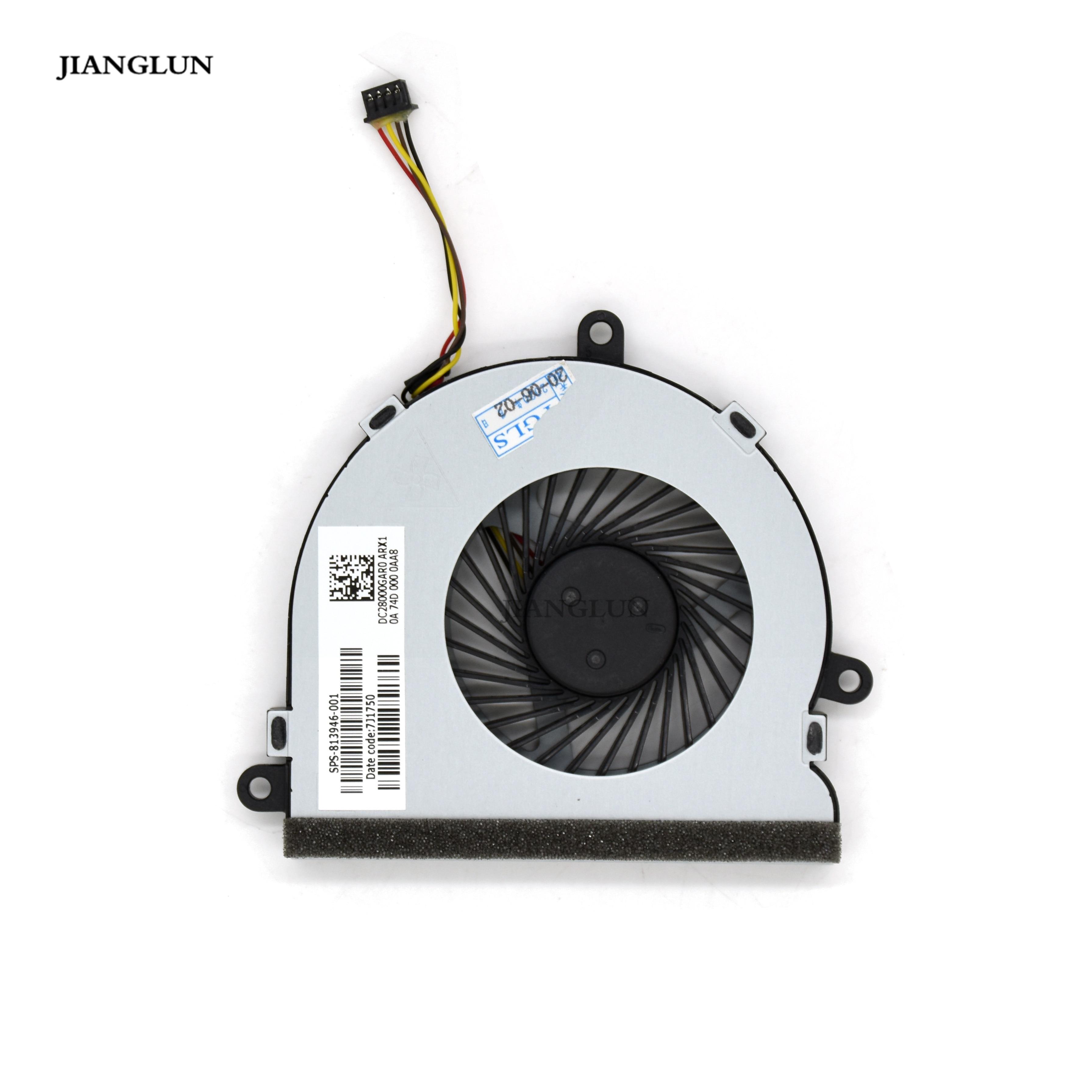 JIANGLUN Laptop CPU Cooling Fan For HP 15-AY