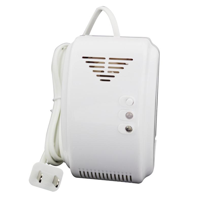 BRJ-501AD Household Gas Detector LPG Gas Alarm Fire Alarm(US PLUG)