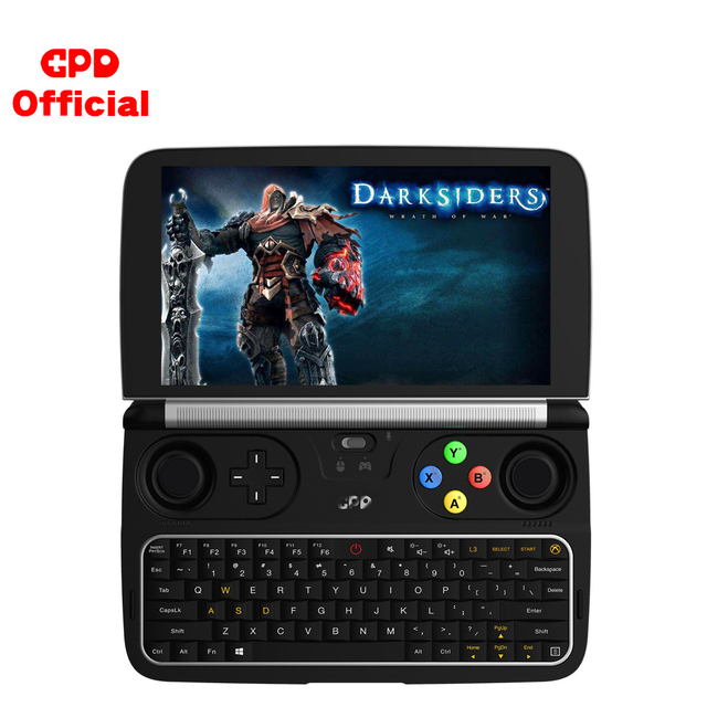 GPD WIN 2 Gaming Laptop 8GB ROM 256GB RAM Mini Portable Computer Netbook 6 Inch Intel Core M3-8100Y IPS Touch Screen Windows 10 1