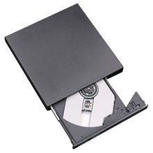 2021 جديد محمول حجم التوصيل والتشغيل محرك خارجي USB 2.0 الموقد CD + RW DVD قارئ ROM CD الكاتب مناسبة ل Mac ل Win7/8/10