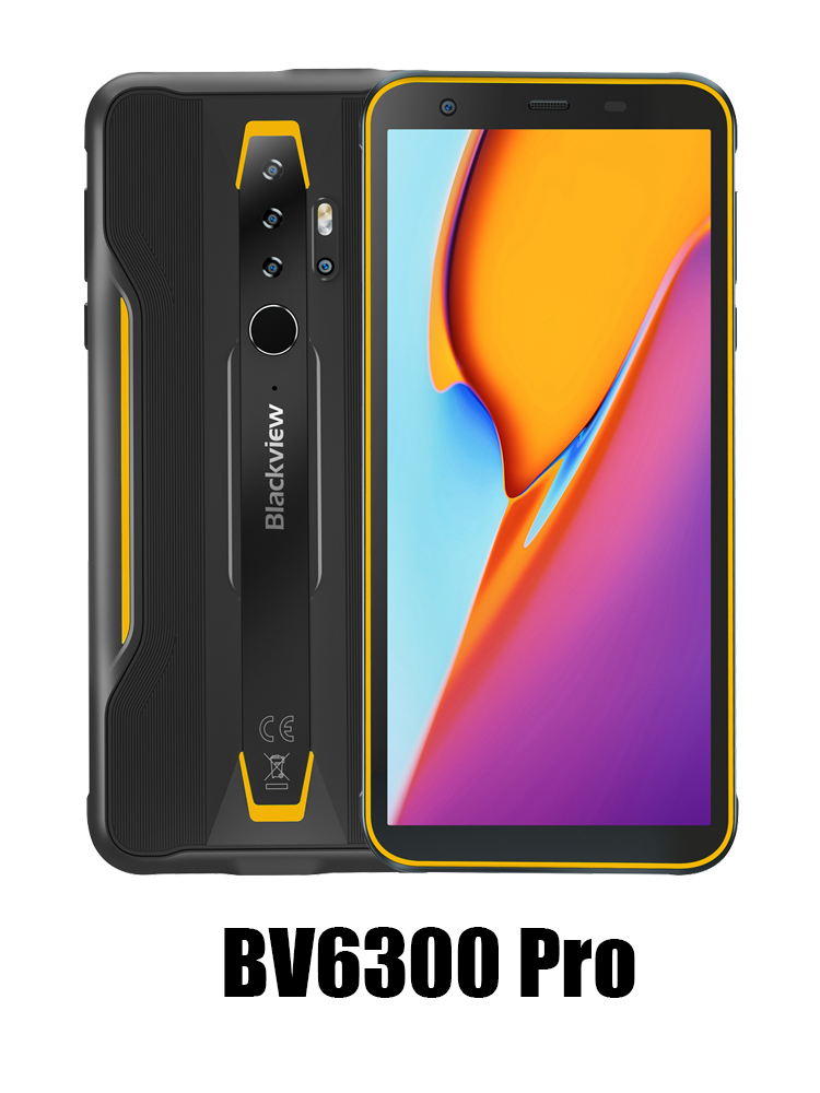 Blackview Helio P70 BV6300 Pro Android 128GB 6GB WCDMA/LTE/CDMA/GSM Nfc Wireless Charging