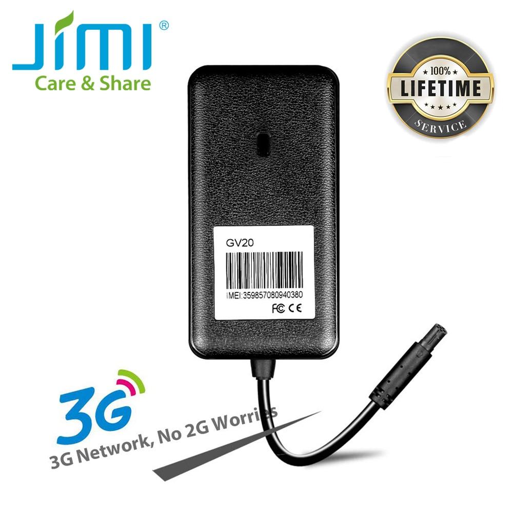 3G GPS Tracker Car Tracking Device Concox GV20 9-90V Wide Voltage Cut Off Oil GPS Locator Mileage Vibration Alarm & SMS Web APP