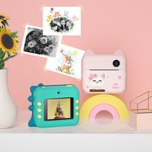 Print-Toys Digital-Camera Photos Polaroid Mini Take for Boys And Girls Birthday-Gifts