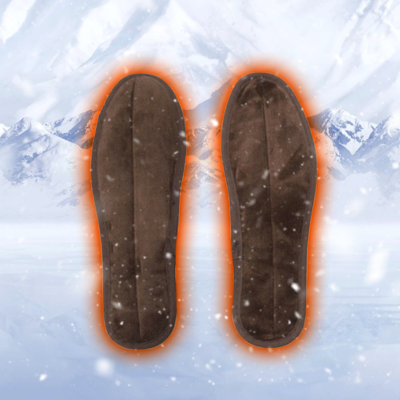 USB Electric Heating Insoles Heated Gloves Shoes Inserts Winter Warm Shoe Pads
