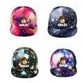 Бейсбольная кепка Roblox для занятий спортом на открытом воздухе, кепка для детей с изображением звездного неба, Регулируемая Кепка для подрос...