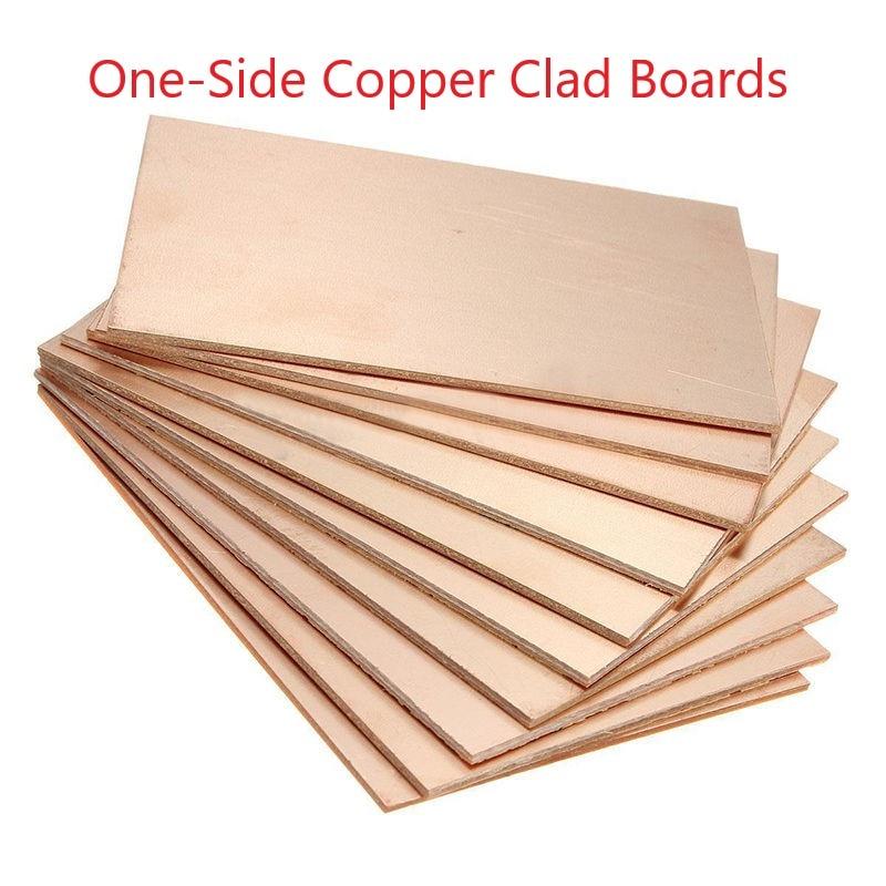 Single Sided Copper Clad Laminate PCB Circuit Board 8x12
