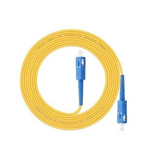 Image 5 - 10 шт. пакет SC UPC Simplex, оптоволоконный коммутационный шнур SC UPC 3,0 мм, оптоволоконный джемпер