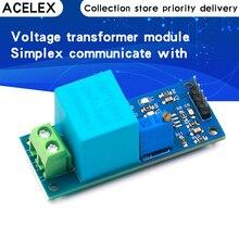 Module de transformateur de tension monophasé actif capteur de tension de sortie ca amplificateur d'inductance mutuelle pour Arduino Mega ZMPT101B