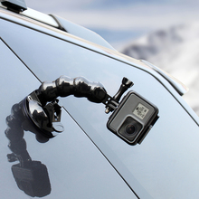 SOONSUN فكي فليكس شفط كأس مع حامل الهاتف كليب 1/4 جبل محول ل GoPro بطل 9 8 7 6 5 4 ل DJI oomo عمل الإكسسوار