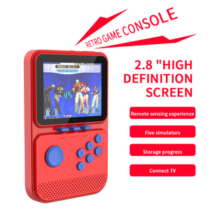 Handheld Gamepad For NES\MAME\MD\GBA\SFC Open Source Arcade Handheld Retro Game Console Progress Save/Load 512M\64G TF Card