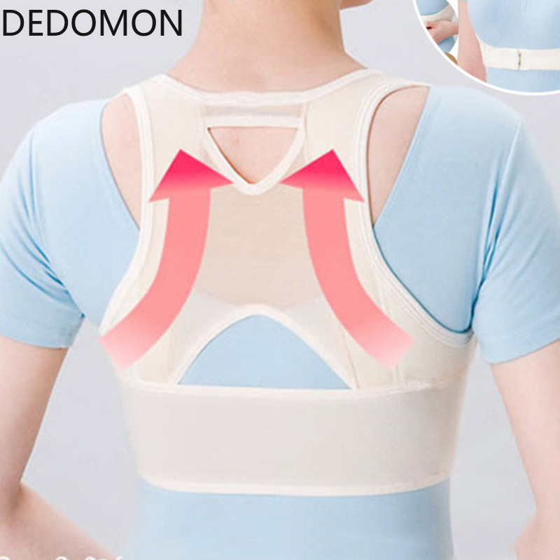 Invisibility Back Belt Shoulder Posture Correction Shoulder Bandage Lady Students Humpback Posture Corrector Brace Back Support