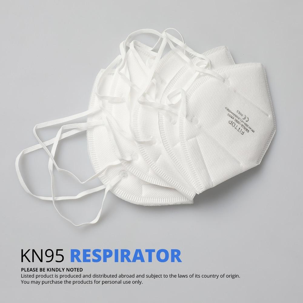 Image 3 - 5 шт. KN95 Сертификация CE маска для лица против гриппа N95  медицинская маска для рта такая же Защитная как KF94 FFP2Маски   -