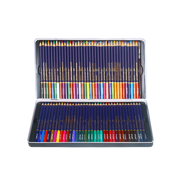 Water-soluble color lead brush set painting pen professional hand-painted 72 color painting students with beginners