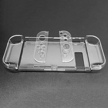 Protection-Cover Nintend-Switch for Detachable Crystal Plastic Shell-Case Support Tv-Base