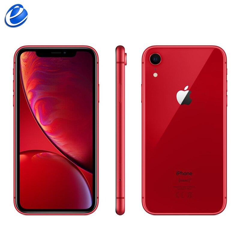 "Original Apple iPhone XR 6.1"" Liquid Retina Fully LCD  64GB/128GB/256GB ROM 4G Lte Apple free warranty shipping from France"