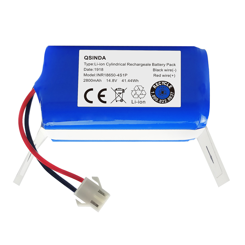 Top Deals Replacement 14.8V 2800Mah Vacuum Lithium Battery For Ecovacs Deebot N79S Robotic Vacuum Cleaner