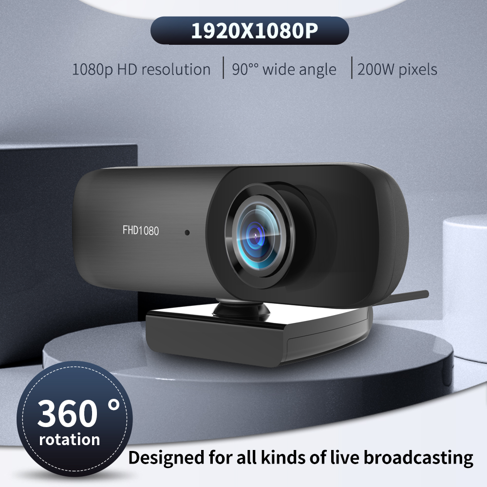 Best C60 1080P Webcam PC USB Camera Web Cam Full HD Network Web Camera With Microphone Laptop Webcam for Webcast/Online teaching 1