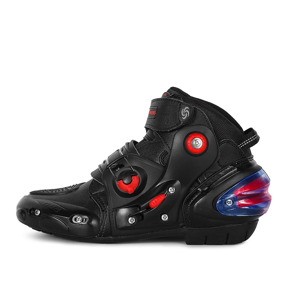 Buty motocyklowe Biker wodoodporna prędkość Motocross buty wyścigowe mężczyźni/kobiety miękkie antypoślizgowe motocyklowe konna Botas Moto