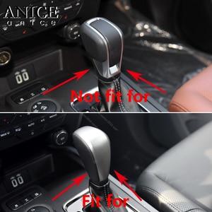 Image 2 - Крышка рычага переключения передач из углеродного волокна, цветная, подходит для Ford Ranger Everest Endeavour аксессуары 2015 2016 2017 2018 2019