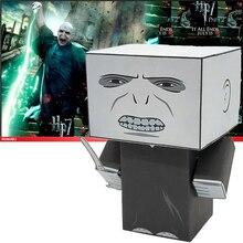 Нет клея Лорд Волдеморт складной резки милый 3D бумажная модель бумаги ремесло Фильм рисунок DIY Cubee для детей взрослых ремесло игрушки CS-024