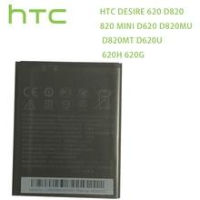 Bateria Original HTC D820 BOPE6100 Para HTC Desire 620 Bateria 820 mini D620 D820MU D820MT D620U 620H 620G dual Sim de Telefone Celular