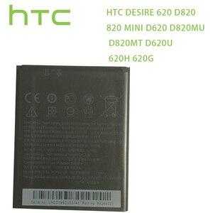 Image 1 - HTC batterie dorigine BOPE6100 pour HTC Desire 620 batterie D820 820 mini D620 D820MU D820MT D620U 620H 620G téléphone portable double Sim