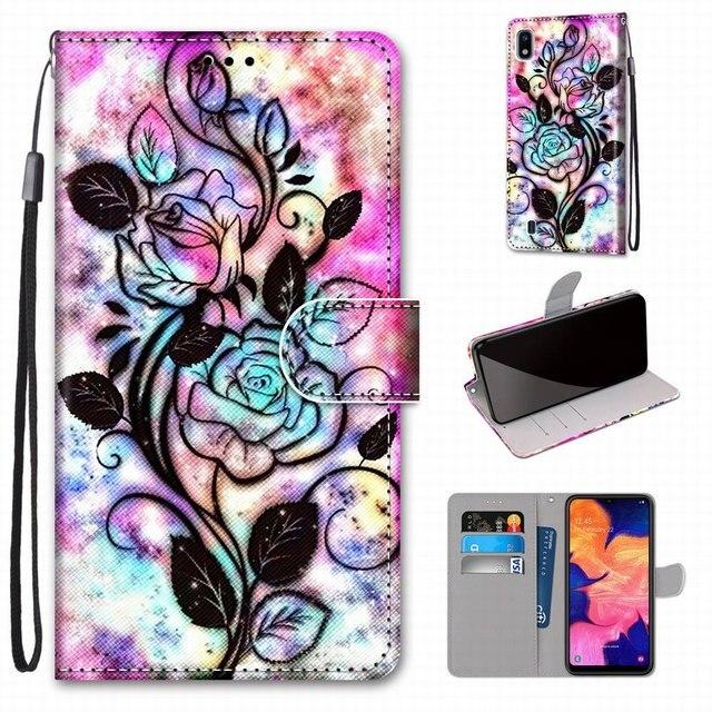 Chłopcy dziewczęta dzieci piękne etui na telefony dla przypadku Samsung Galaxy A50 A500 A510 A520 A5 2015 2016 2017 wieża pies kot kotek tygrys D08F