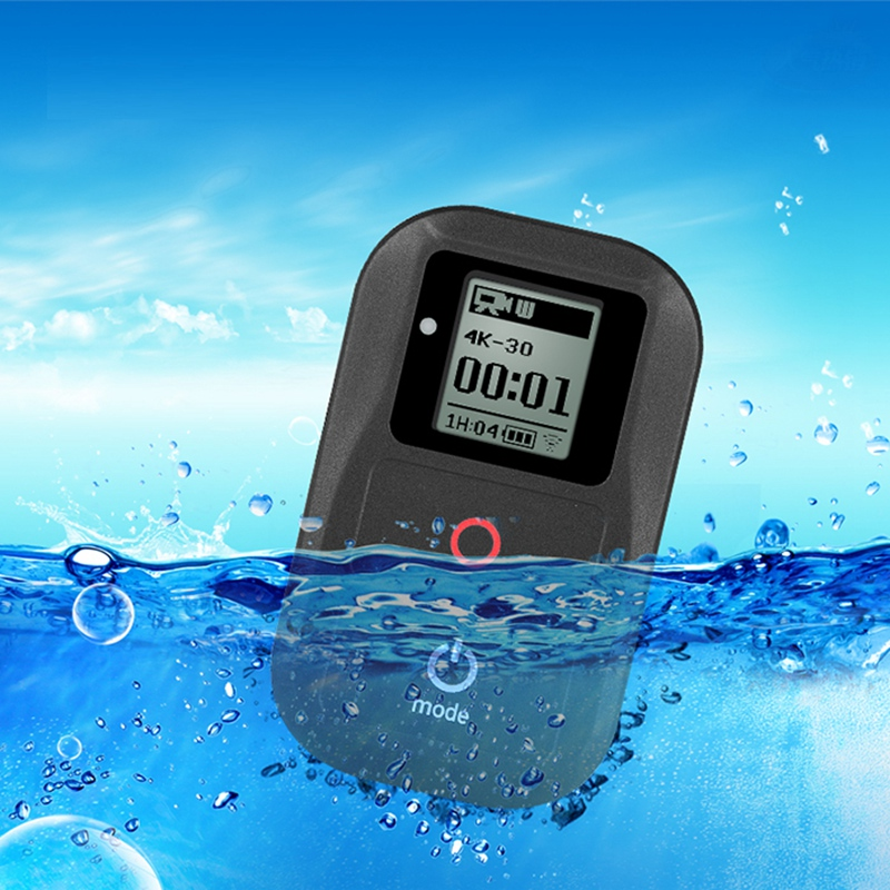 Waterproof Wireless WiFi <font><b>Remote</b></font> for <font><b>Gopro</b></font> Hero 7 6 5 4 Session Go Pro 5 6 3+ Smart <font><b>Remote</b></font> <font><b>Control</b></font> Charging Cable Kits image