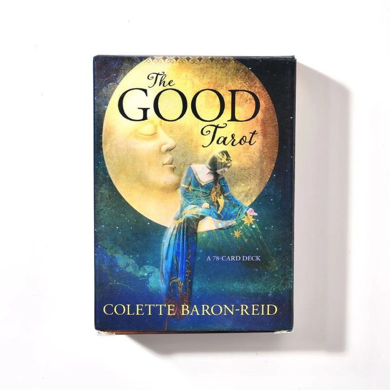 The Good Tarot 78 Card Deck Full English Tarot Guidance Fate Divination Prophecy Board Game Playing Card for Family Party 3