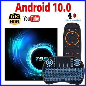 Image 1 - 2020 Android 10 TV kutusu T95 akıllı TV kutusu Android kutusu Max 4GB RAM 64GB ROM Allwinner H616 dört çekirdekli TV kutusu 4K medya oynatıcı 2GB 16GB