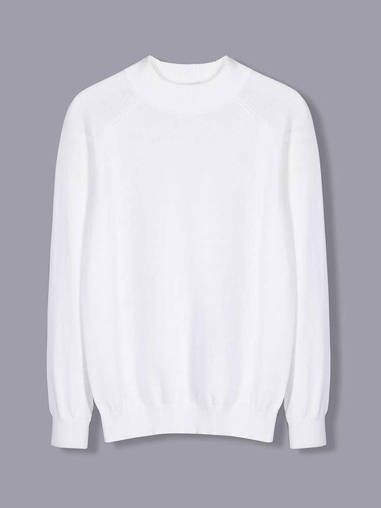 파이어 니어 캠프 2019 스웨터 남성 캐주얼 솔리드 오 넥 슬림 코튼 니트 품질 남성 스웨터와 풀오버 ams902282