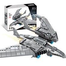 Toys For Children Military Battle Drone Model Kit Compatible Legoing DIY Assembled Educational Building Blocks Brick Kid New O22