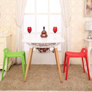 Image 3 - Bắc Âu INS Sáng Tạo Nhựa Phân Ghế Ăn dành cho Phòng Ăn Nhà Hàng Nội Thất Phòng Khách Nhà Bếp Phòng Ngủ Ăn Phân