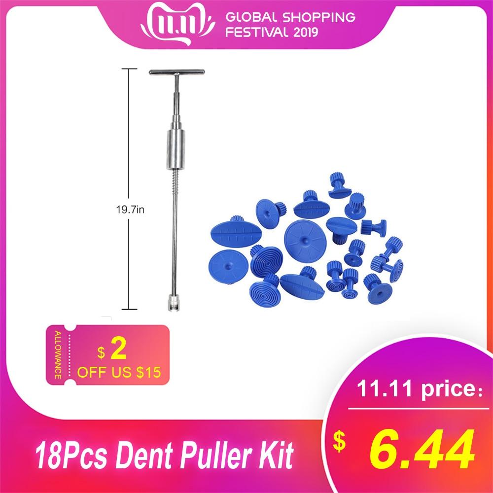 Tools Paintless Dent-Repair Dent Puller Kit Dents Removal Slide Hammer Glue Sticks Reverse Car Body Repair Tool For Car Dent