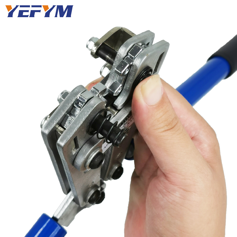 HX-50B cable crimpercable lug crimping tool wire crimper hand ratchet terminal crimp pliers for 6-50mm2 1-10AWG wire cable