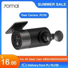 70mai Rear Camera RC06 Full HD 1920x1080 for 70mai A800, A800S 4K Ultra HD Dual Vision Camera, and A500S 1944P 2.7k Dash Camera