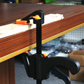Разбрасыватель удобрений светодиодный свет бар зажим F зажим гаджет инструмент DIY ручной Скорость Squeeze быстрая трещотка удерживающий зажим ...