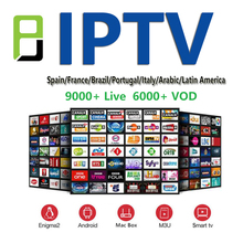 IPTV spain m3u subscription 1year Europe iptv 9000 live channel Italy German French Spanish support android box enigma2 smart tv